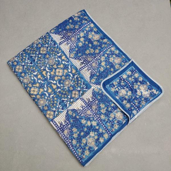 Double Size Dohar Handblock Printed DD77