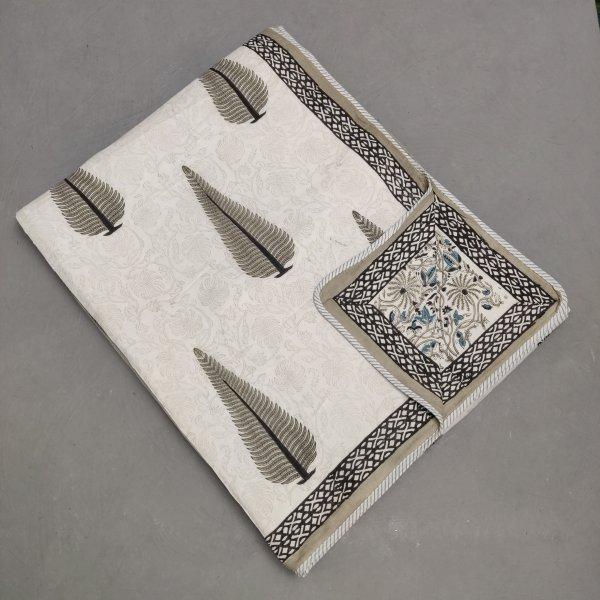 Double Size Dohar Handblock Printed DD85