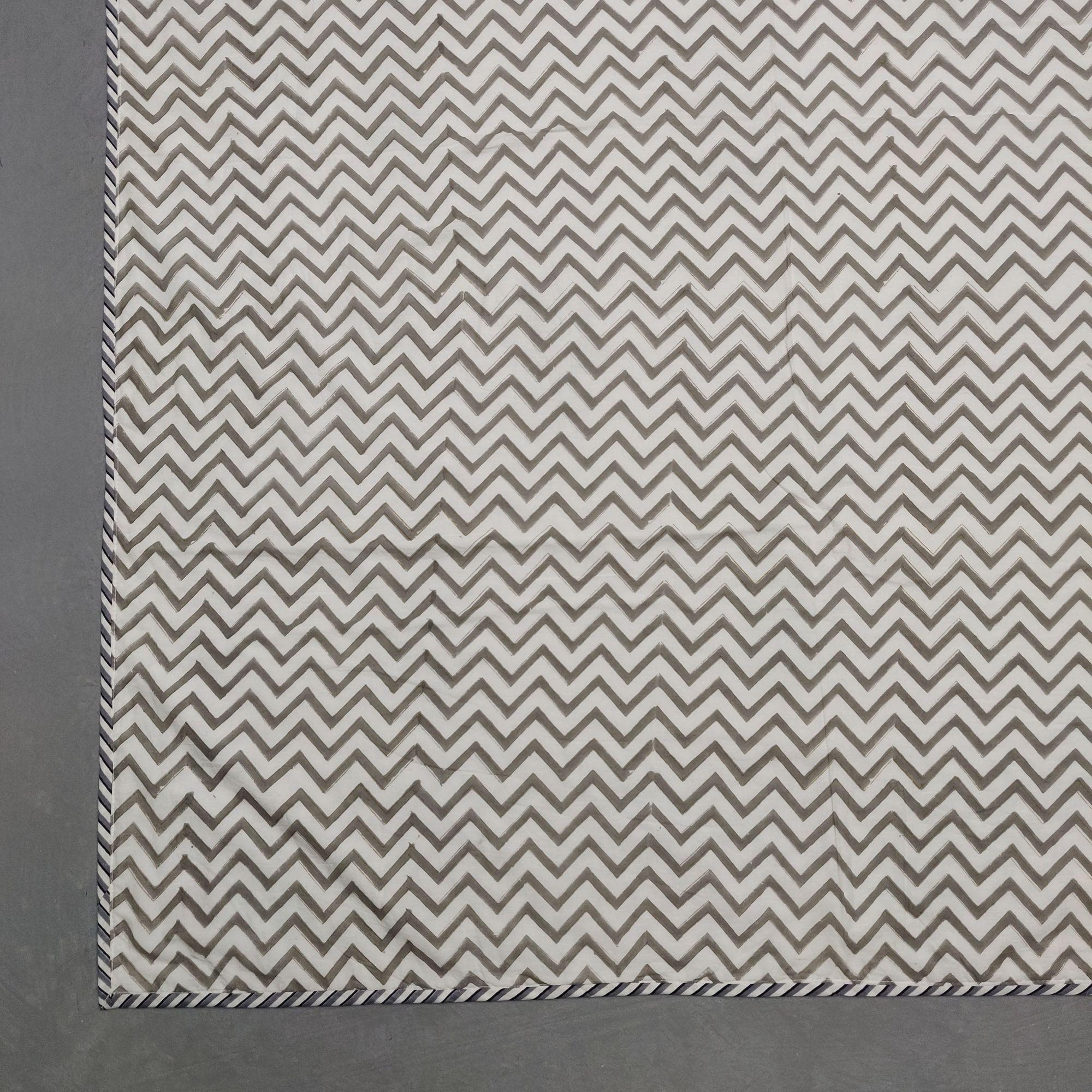 Double Size Dohar Handblock Printed DD93