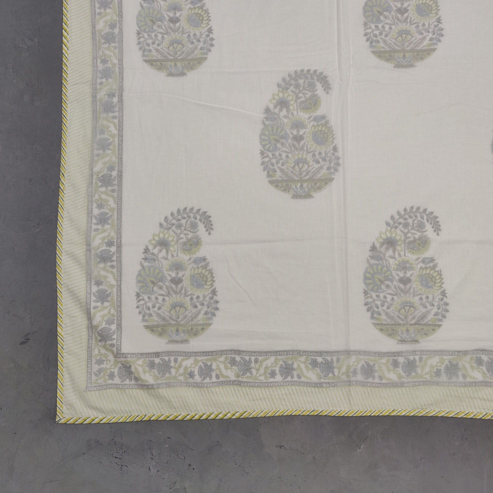 Handblock Printed Summer Double Size Dohar DWFD17
