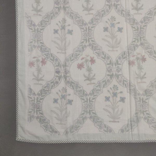 Handblock Printed Summer Double Size Dohar DWFD38