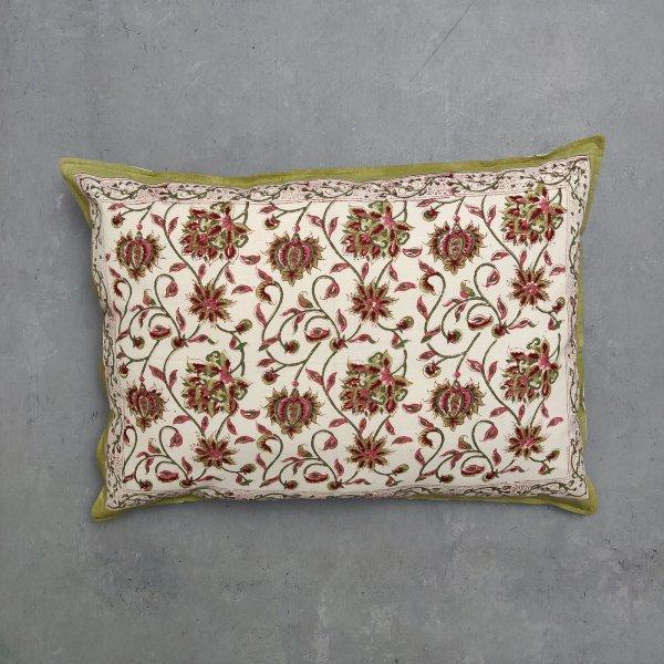 Handblock Pillow Cover HPC104