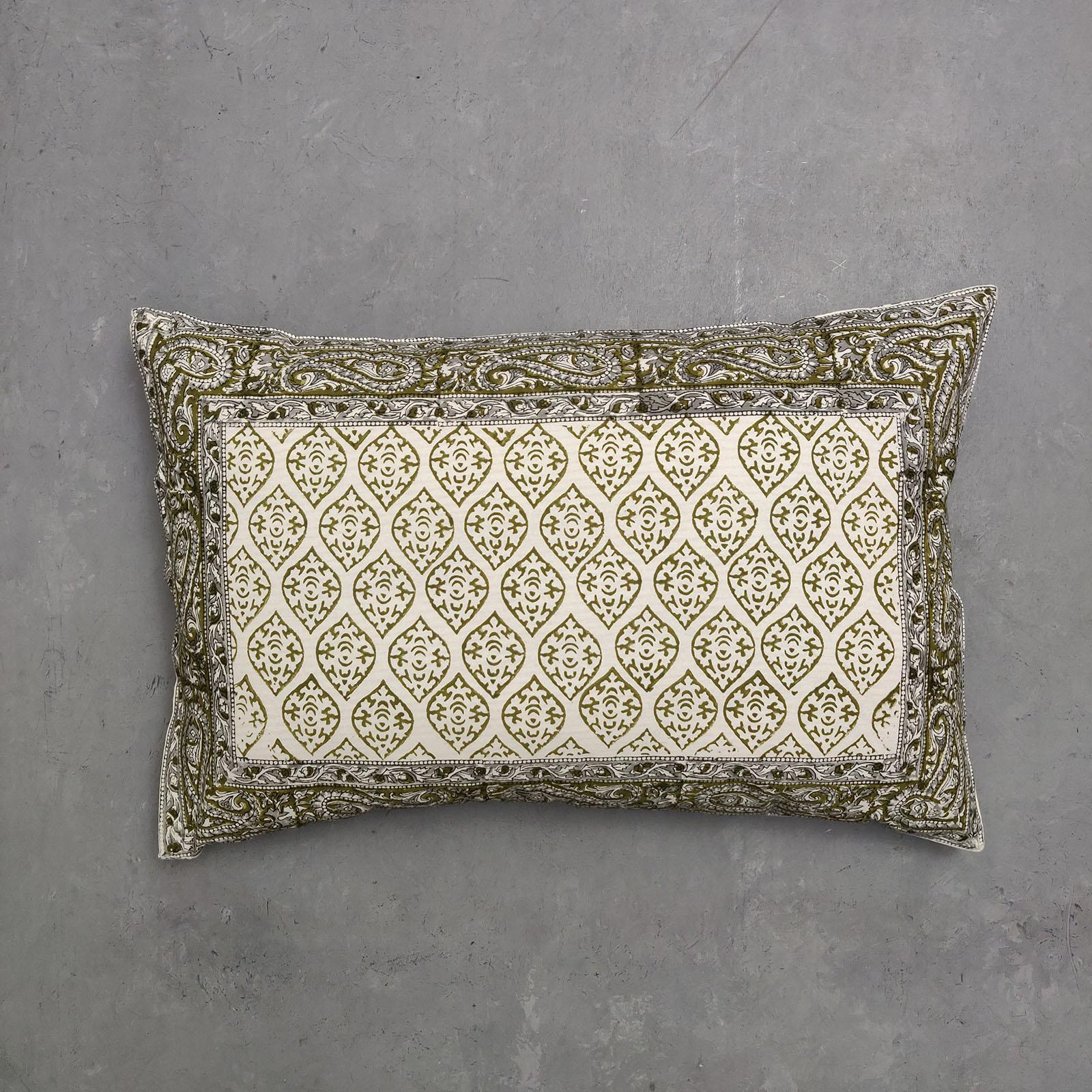 Handblock Pillow Cover HPC105