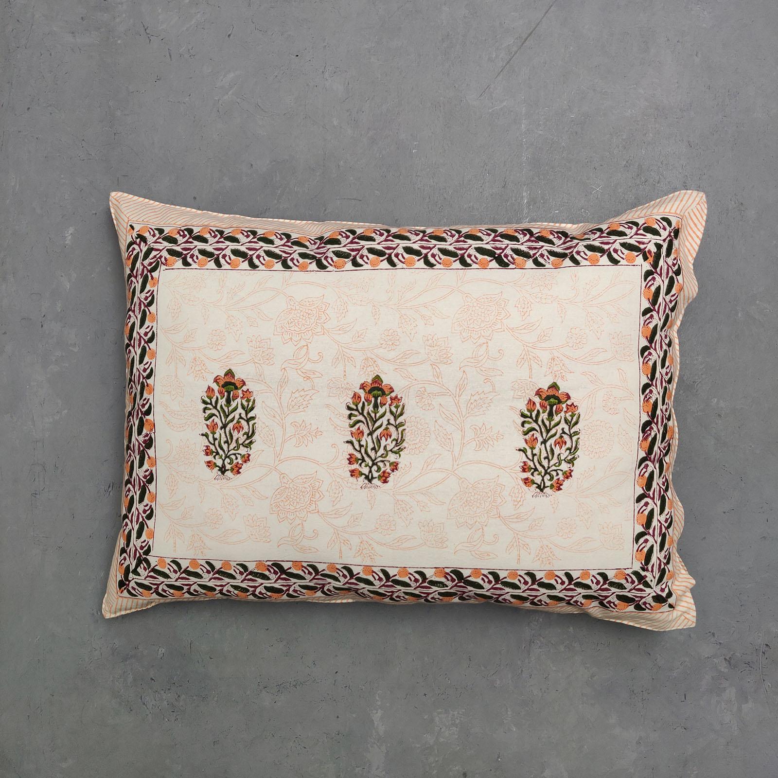 Handblock Pillow Cover HPC106