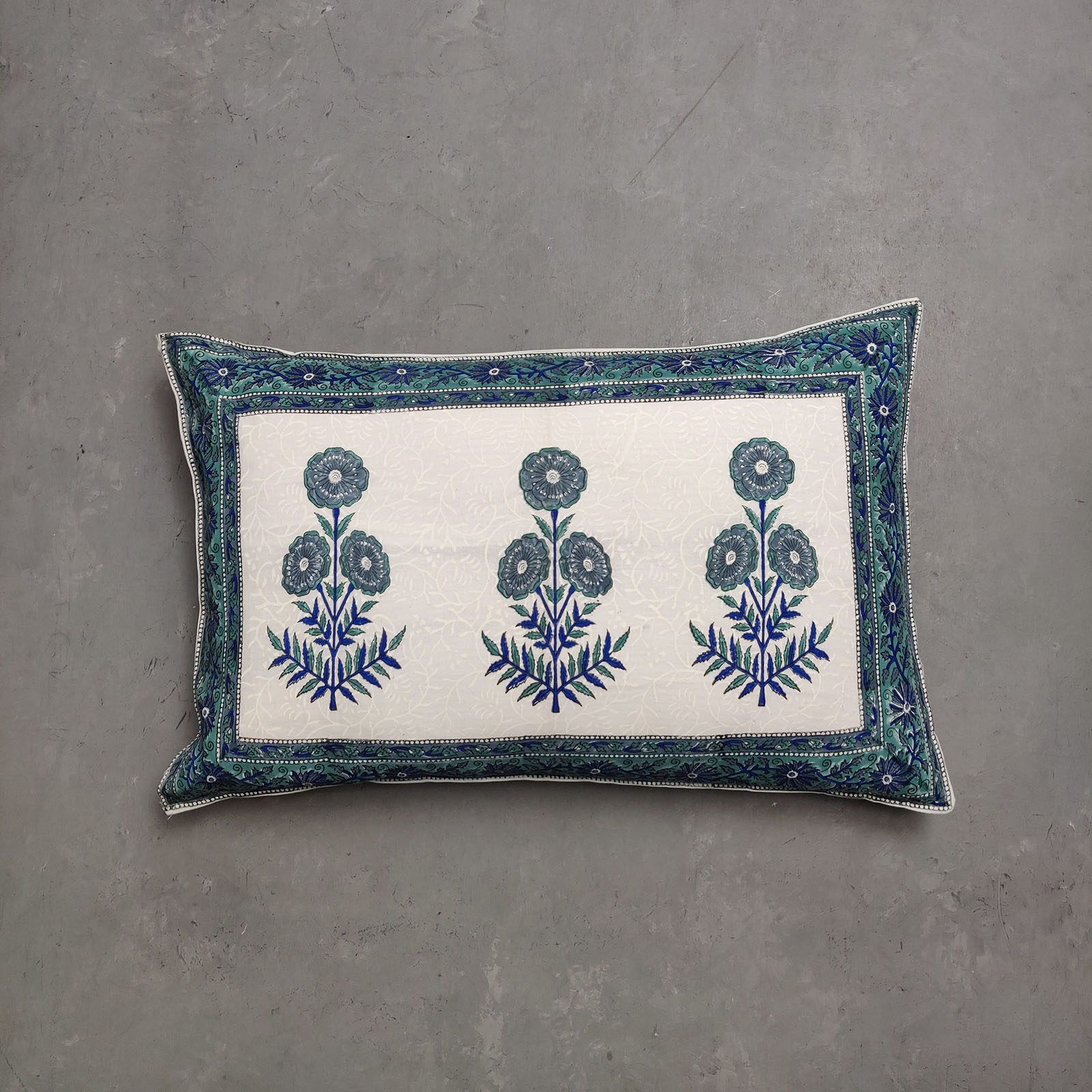 Handblock Pillow Cover HPC119