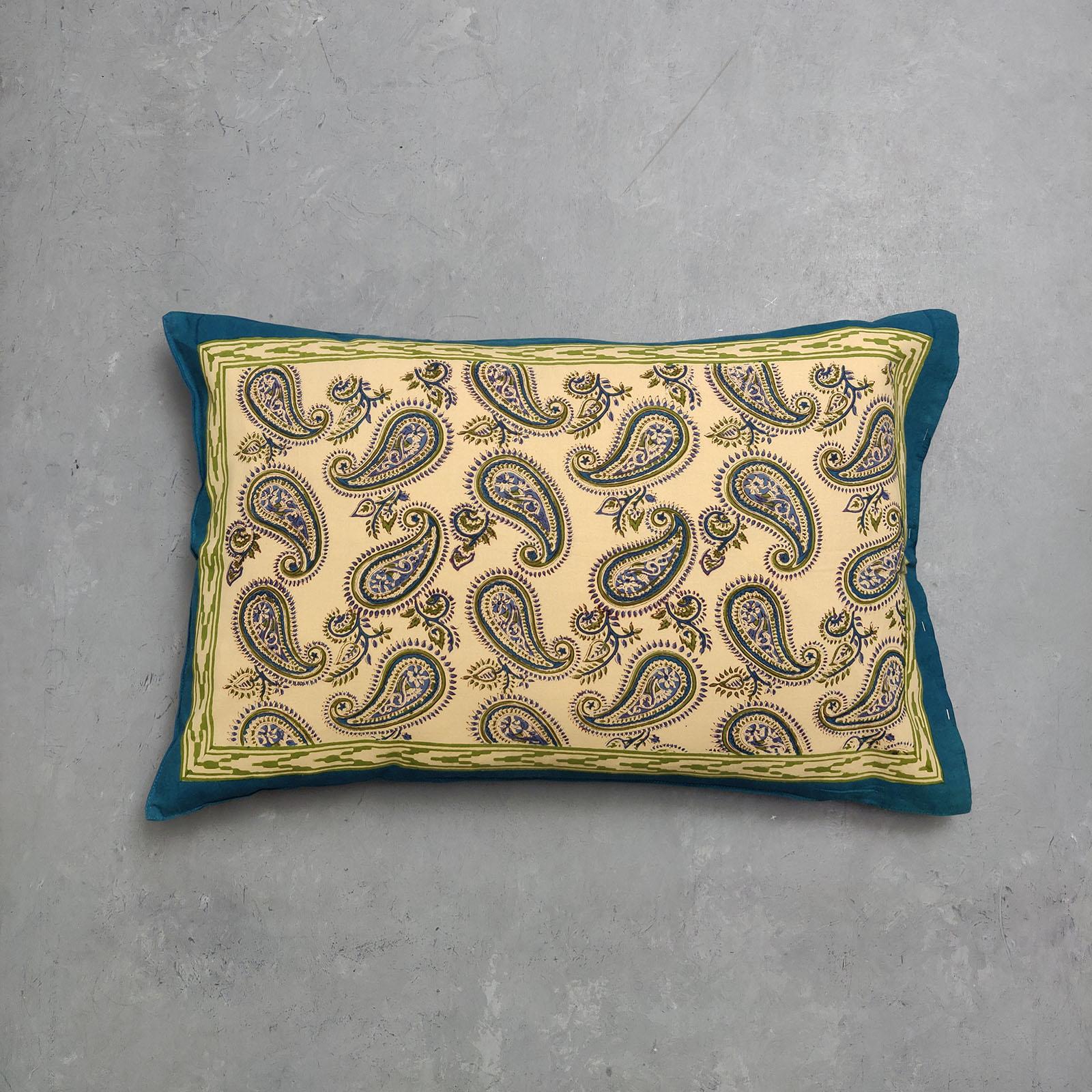 Handblock Pillow Cover HPC127