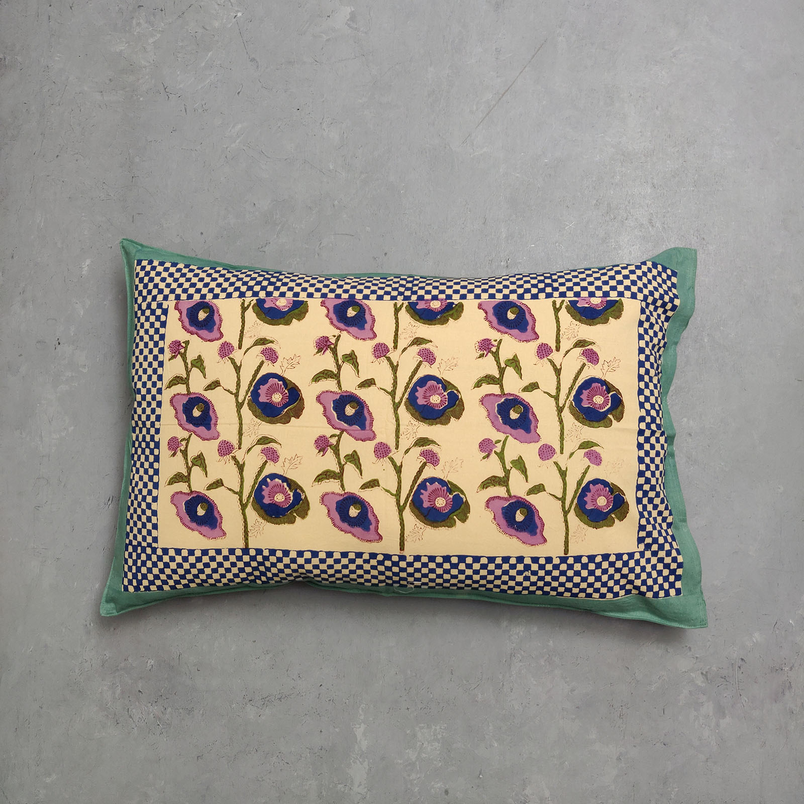 Handblock Pillow Cover HPC129
