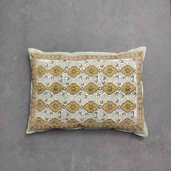 Handblock Pillow Cover HPC140