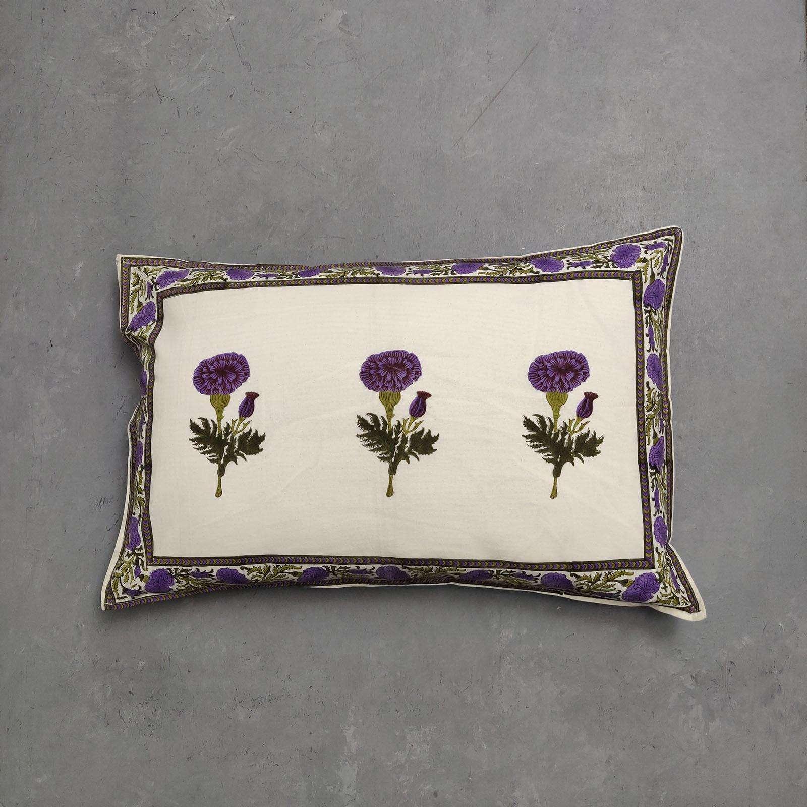 Handblock Pillow Cover HPC147