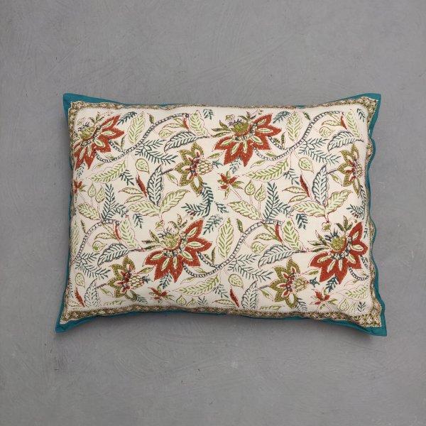 Handblock Pillow Cover HPC217