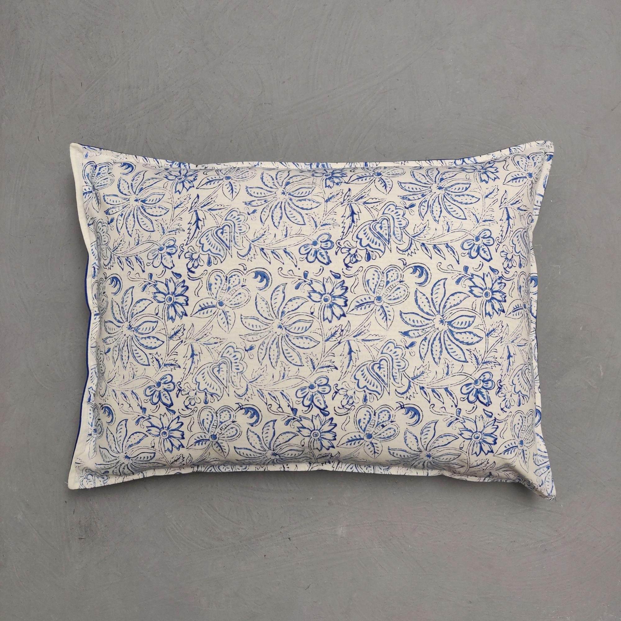 Handblock Pillow Cover HPC218