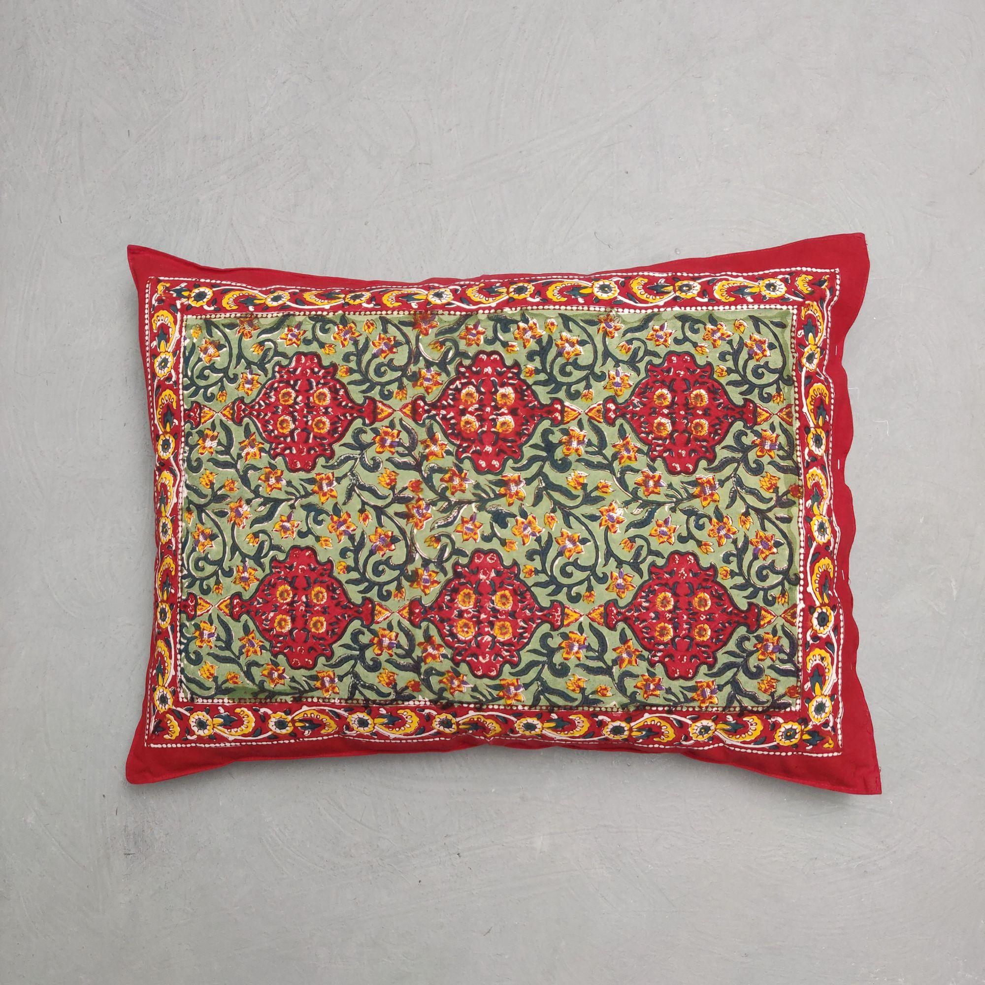 Handblock Pillow Cover HPC220