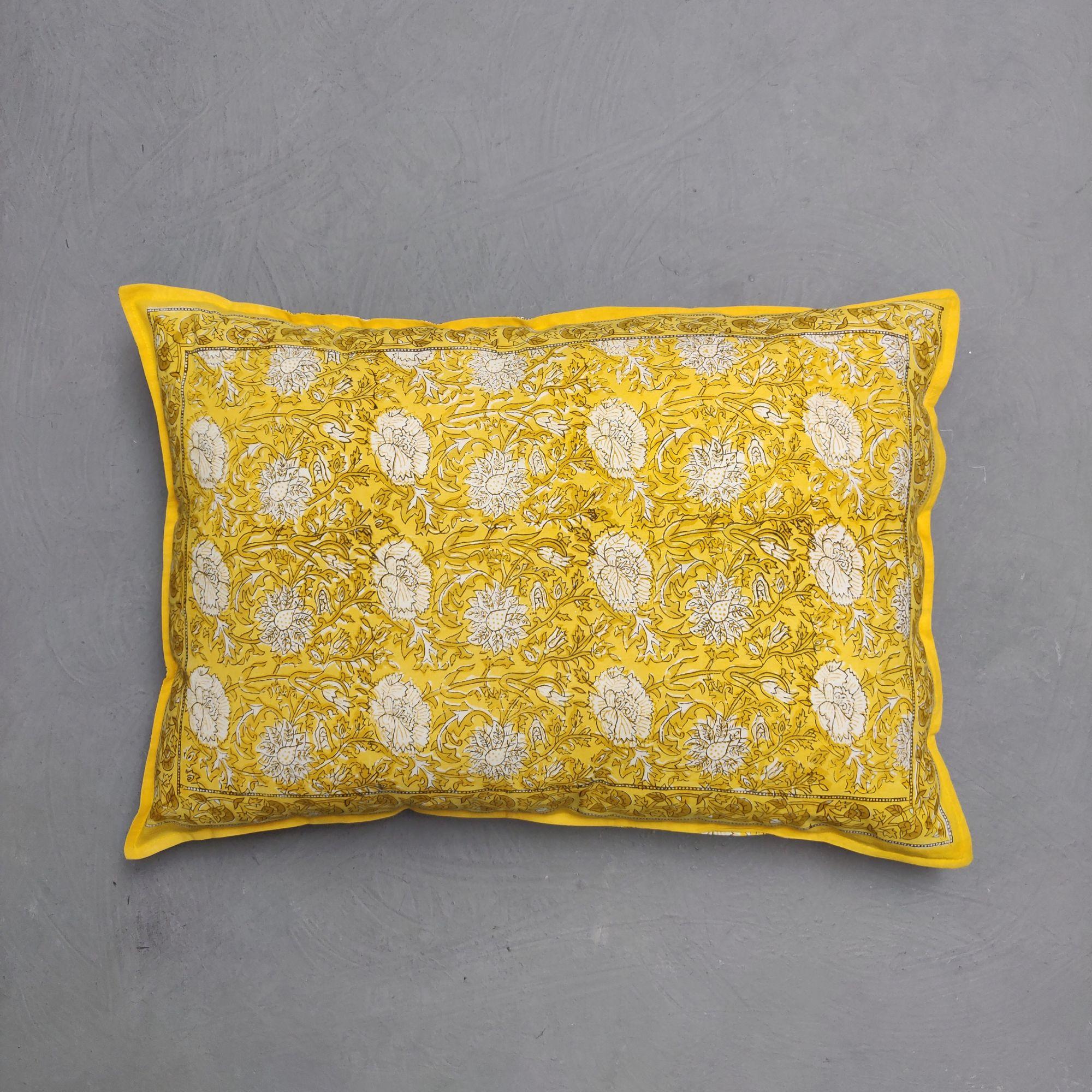 Handblock Pillow Cover HPC223