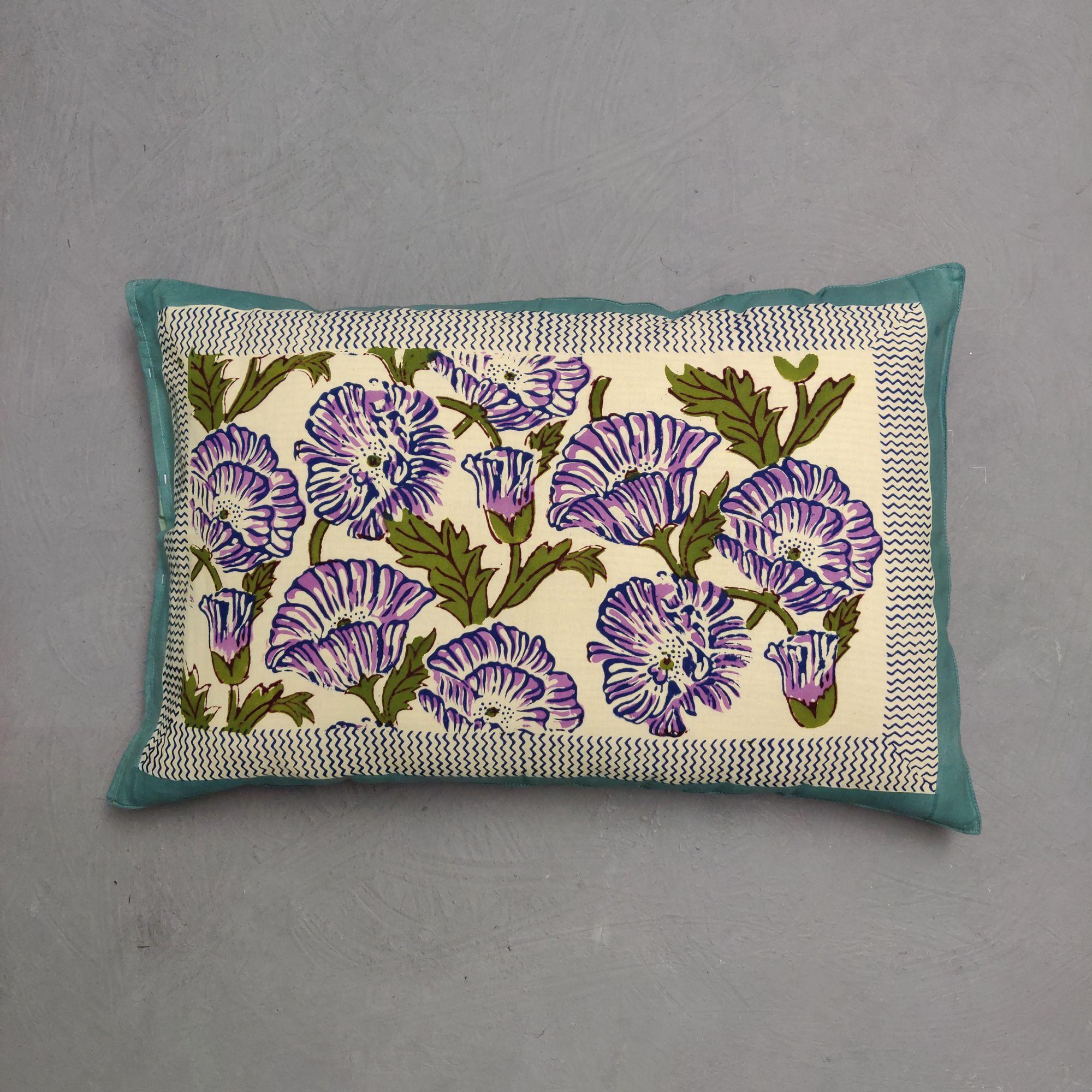 Handblock Pillow Cover HPC233