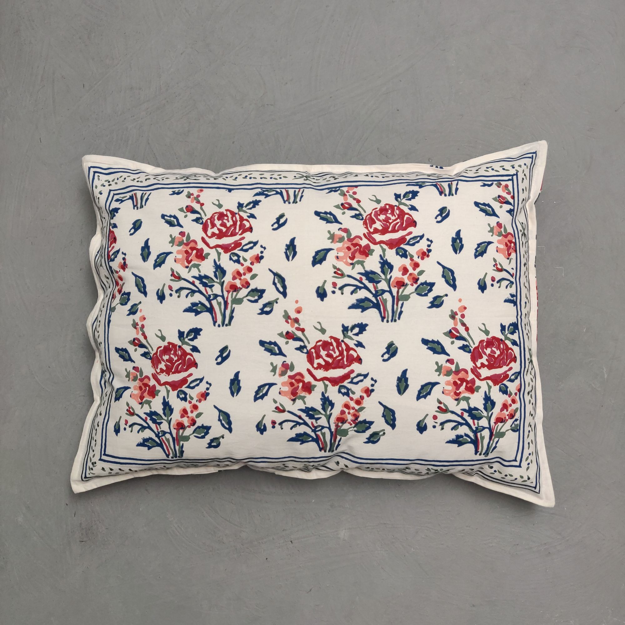 Handblock Pillow Cover HPC236