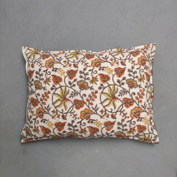 Handblock Pillow Cover HPC241