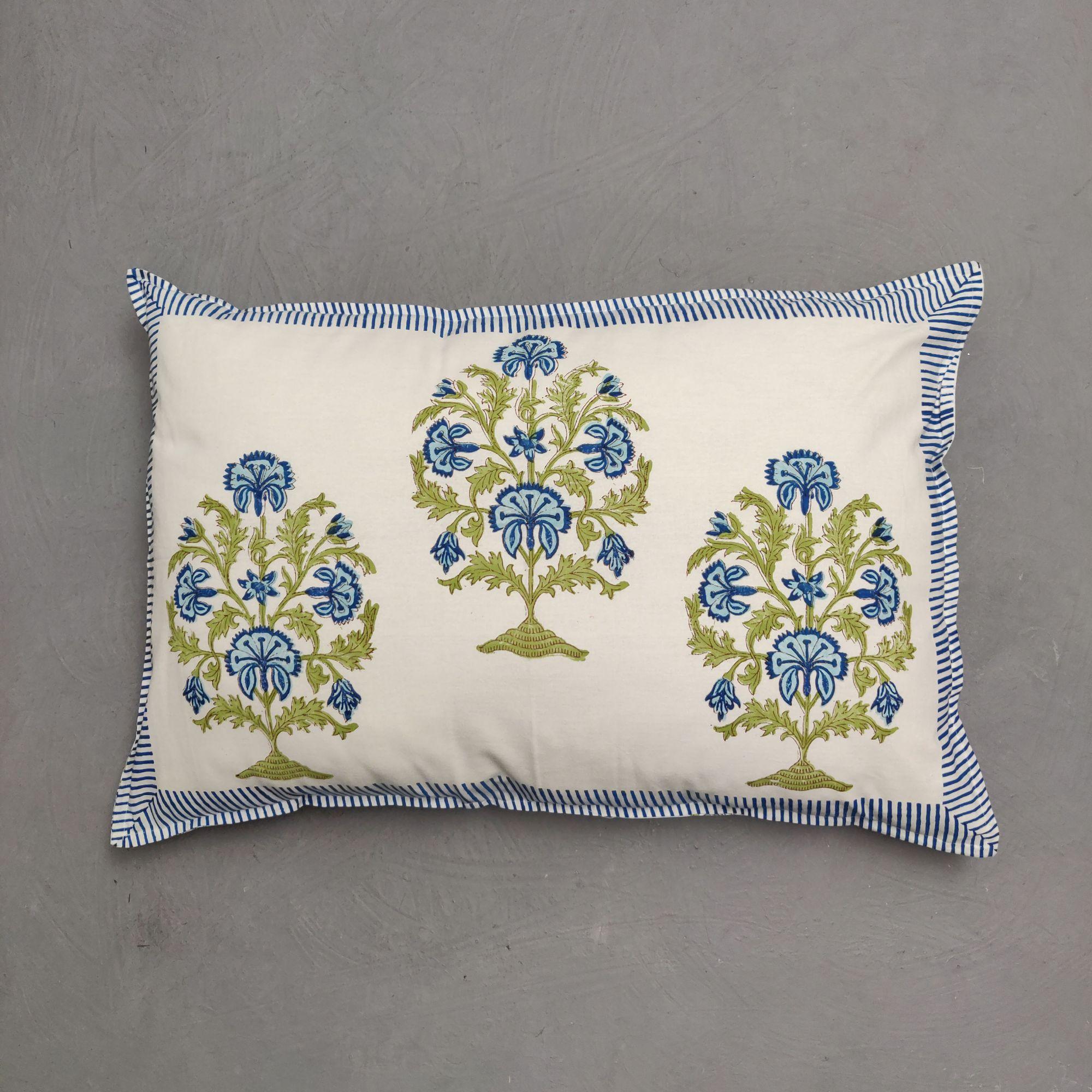 Handblock Pillow Cover HPC246