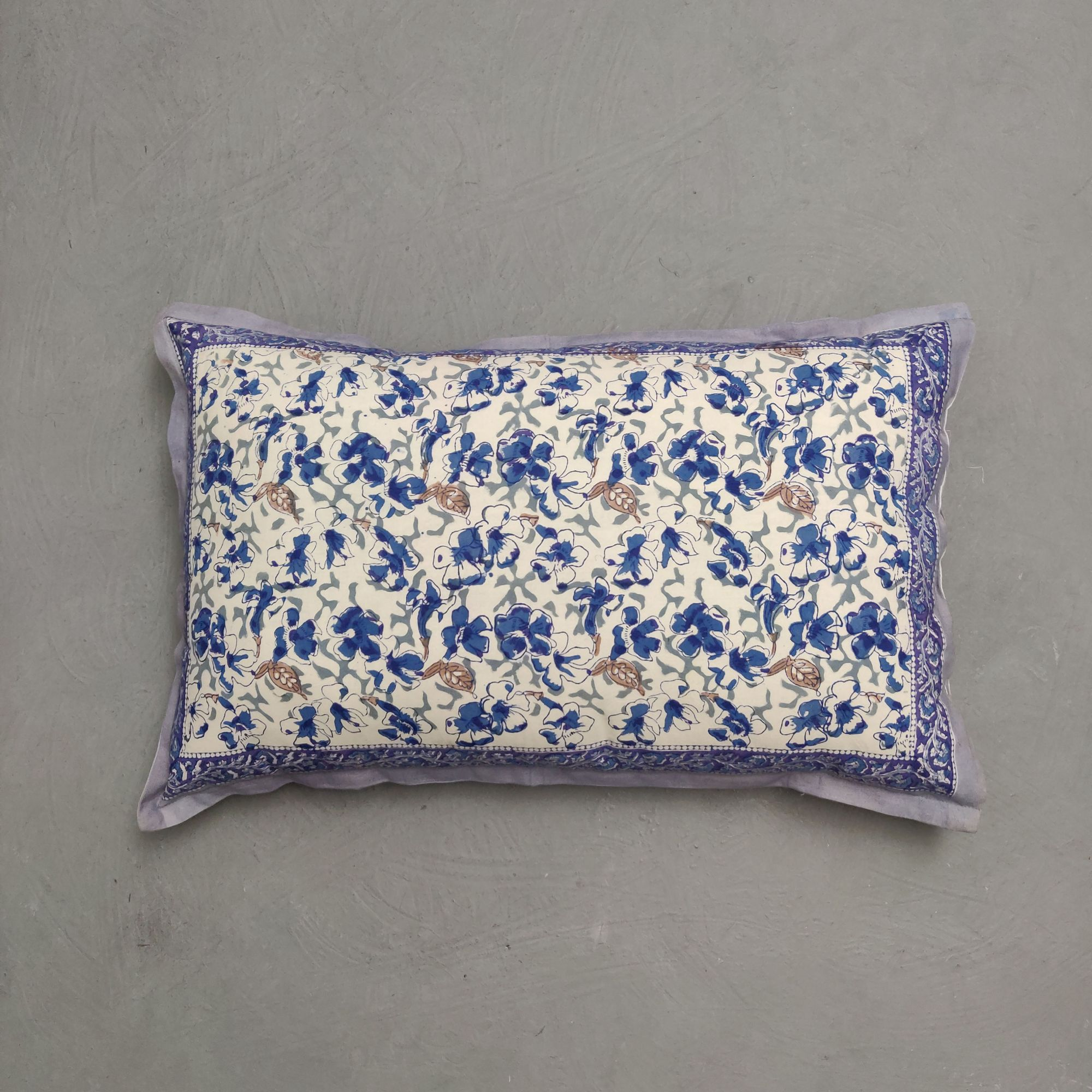 Handblock Pillow Cover HPC248