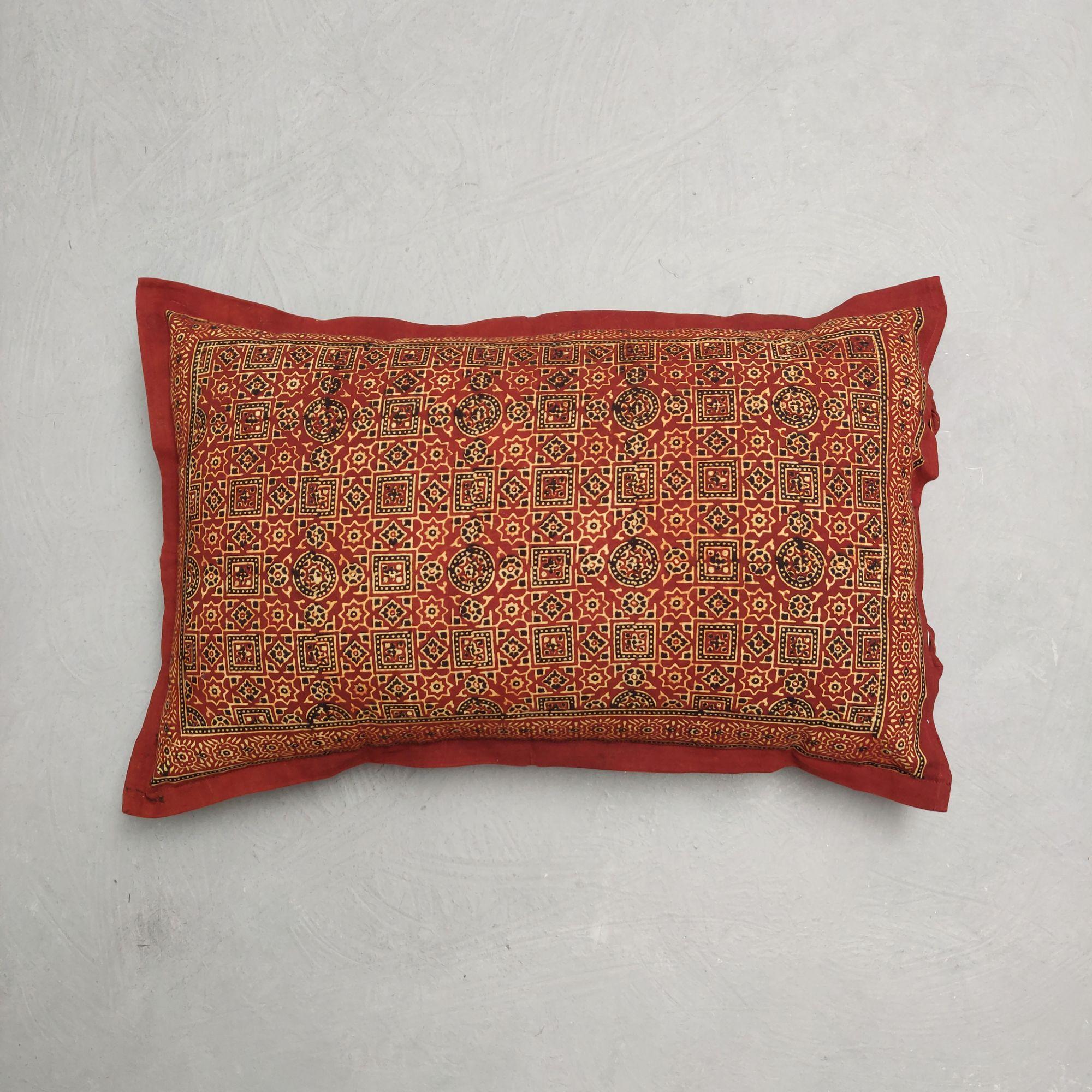Ajrakh Pillow Cover HPC260