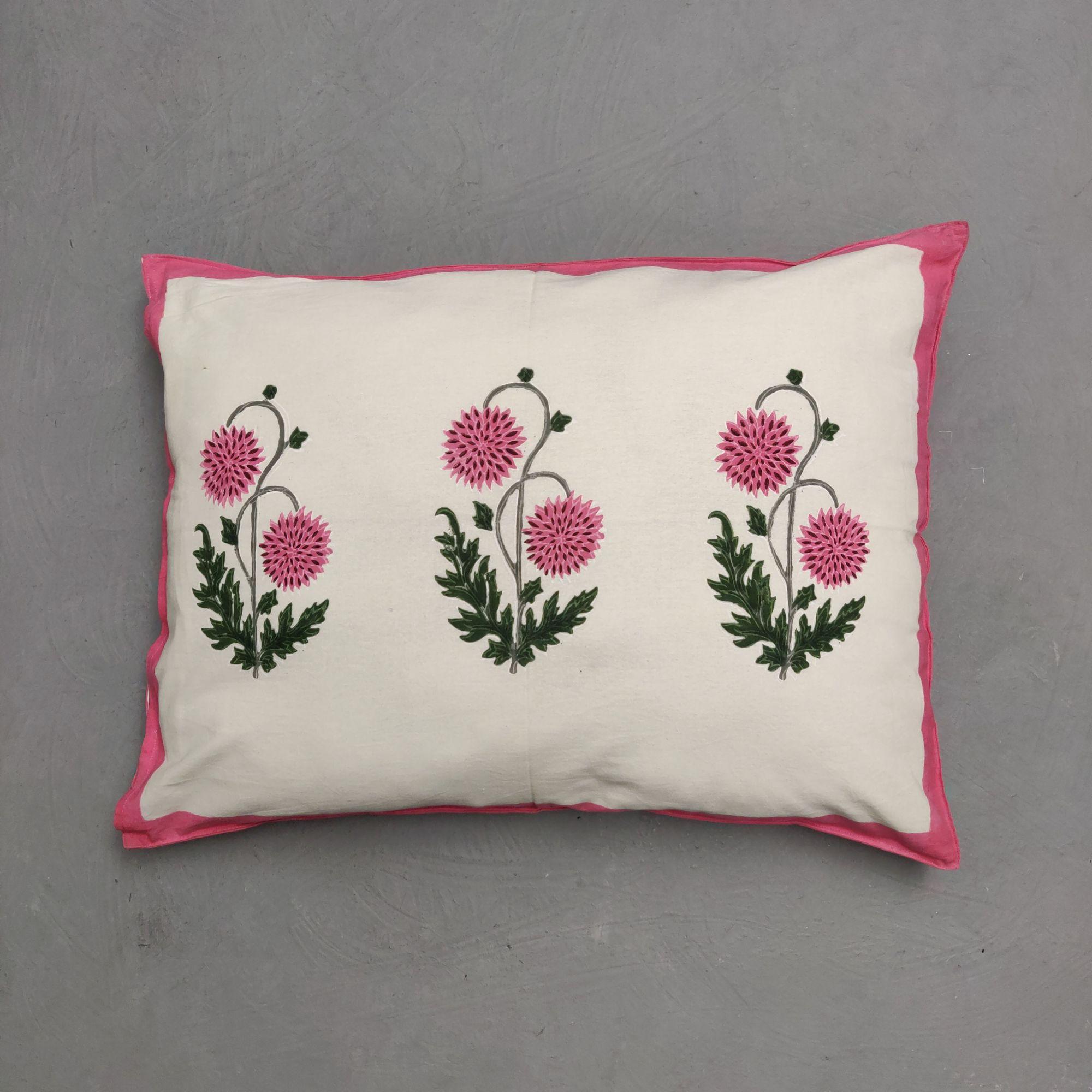 Handblock Pillow Cover HPC265