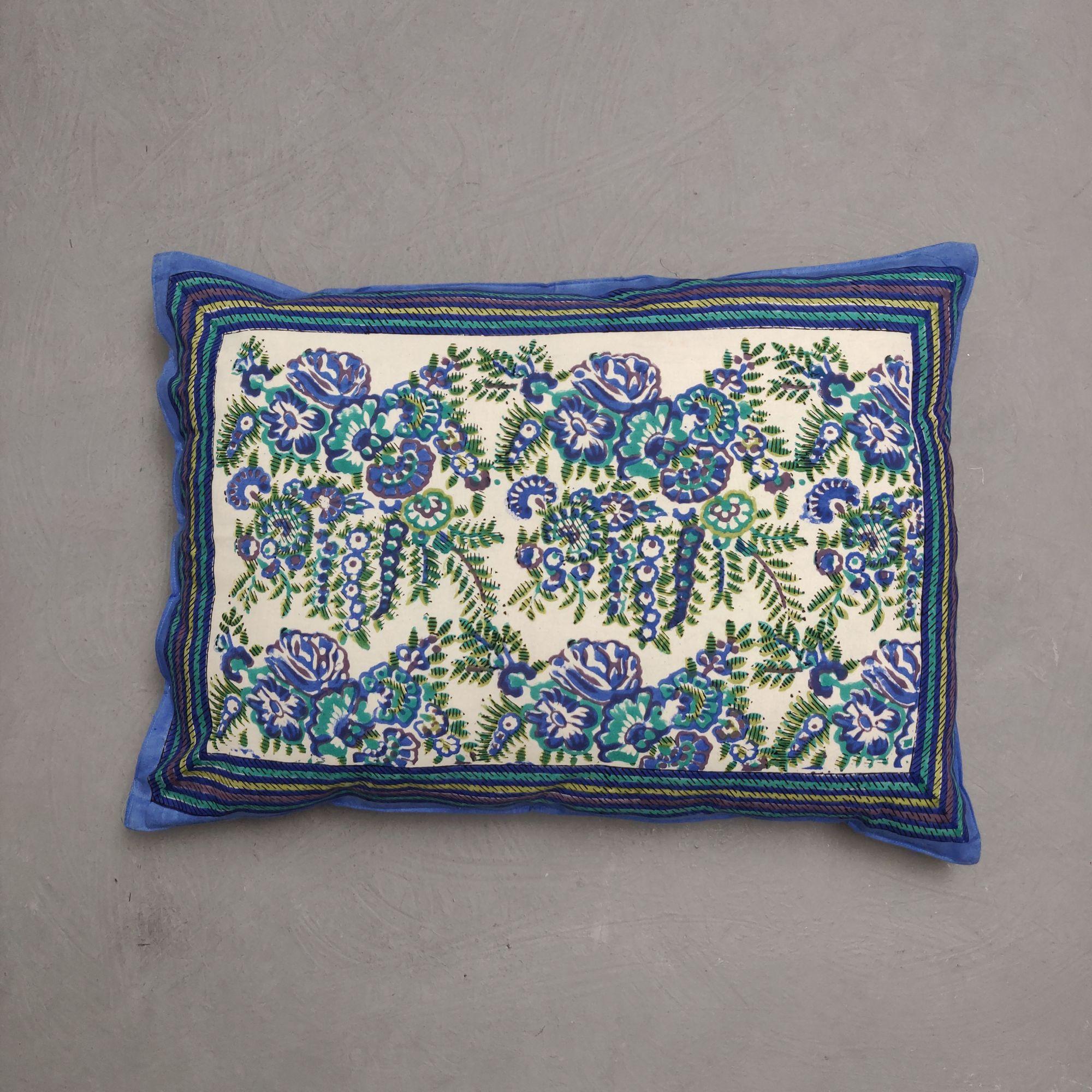 Handblock Pillow Cover HPC271