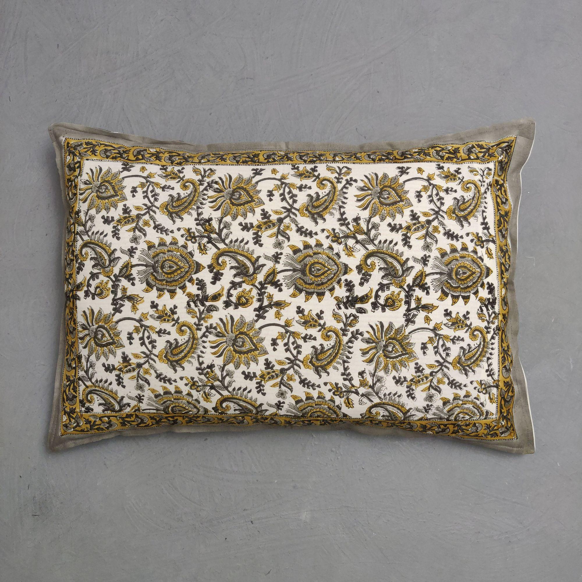 Handblock Pillow Cover HPC286