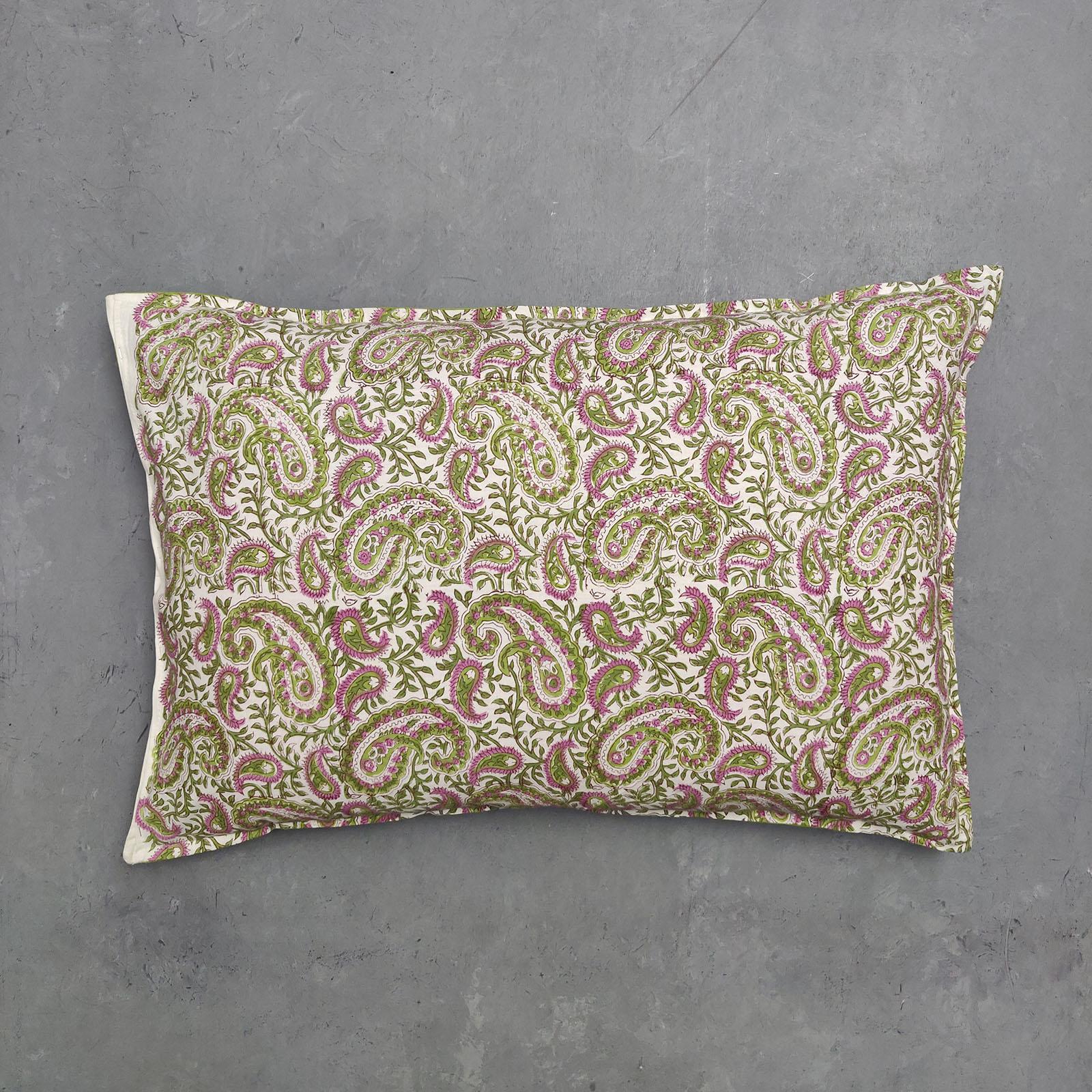 Handblock Pillow Cover HPC51