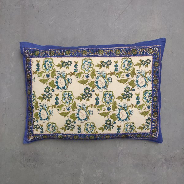 Handblock Pillow Cover HPC53
