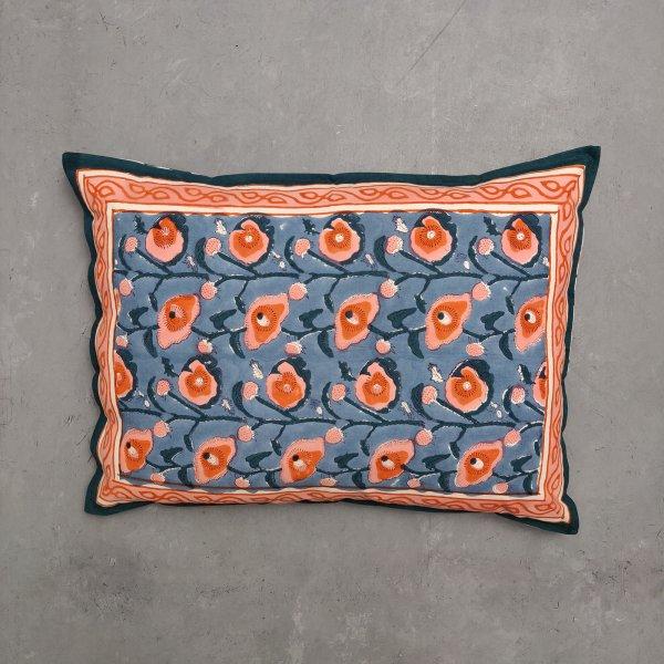 Handblock Pillow Cover HPC64
