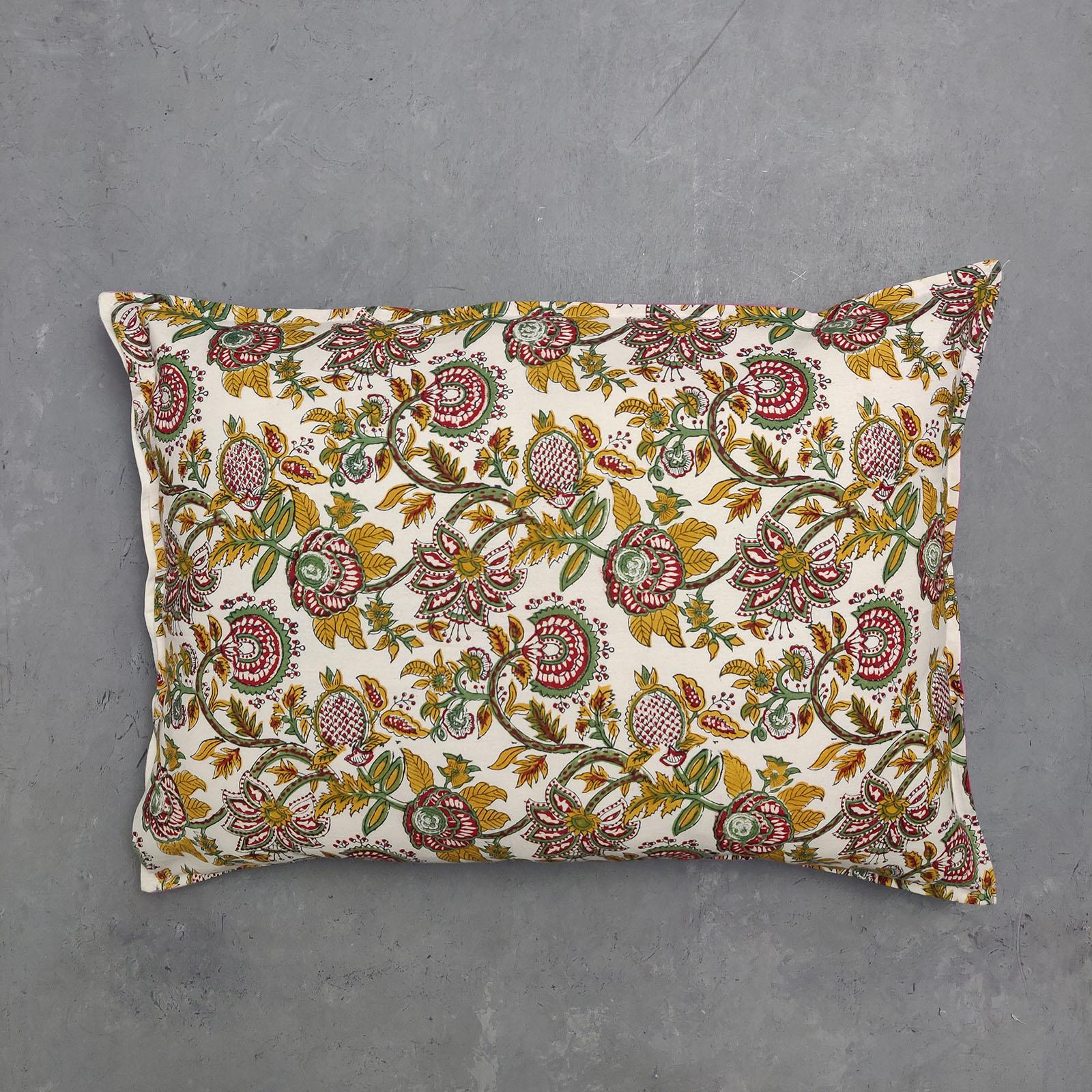 Handblock Pillow Cover HPC66