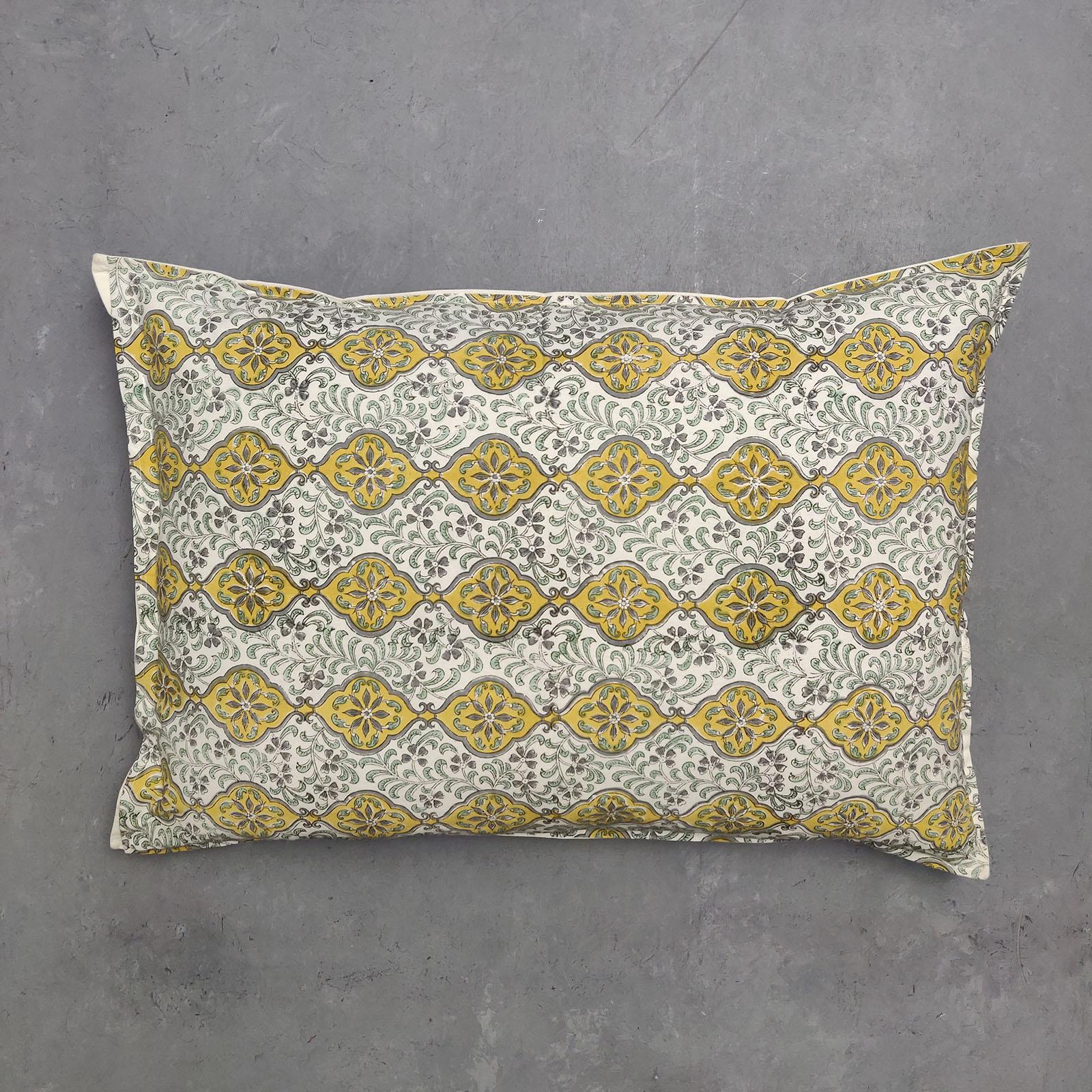 Handblock Pillow Cover HPC68