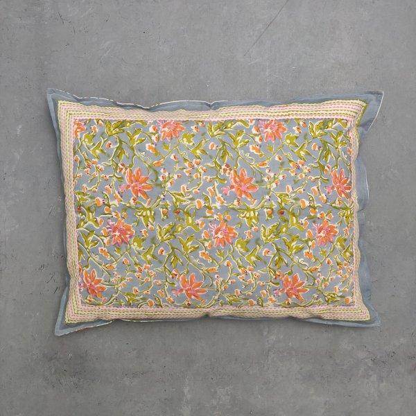 Handblock Pillow Cover HPC74