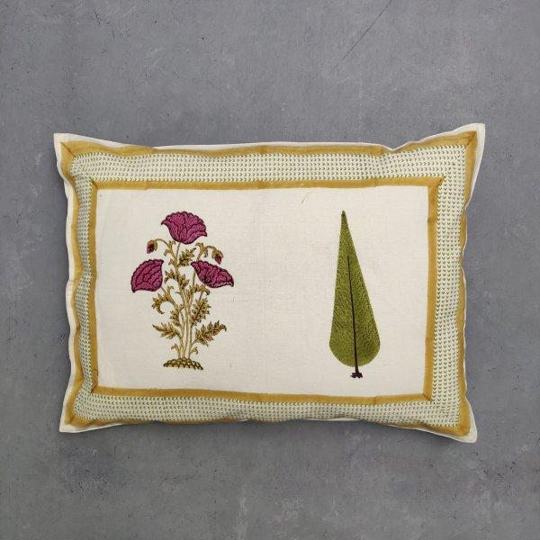 Handblock Pillow Cover HPC75