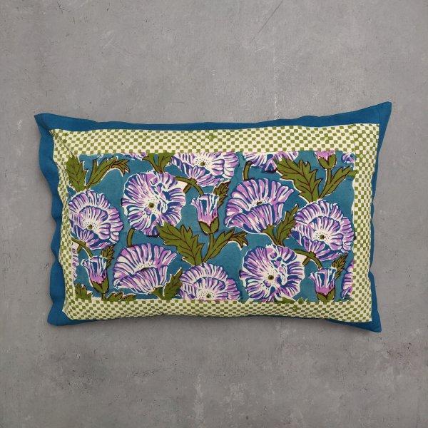 Handblock Pillow Cover HPC78