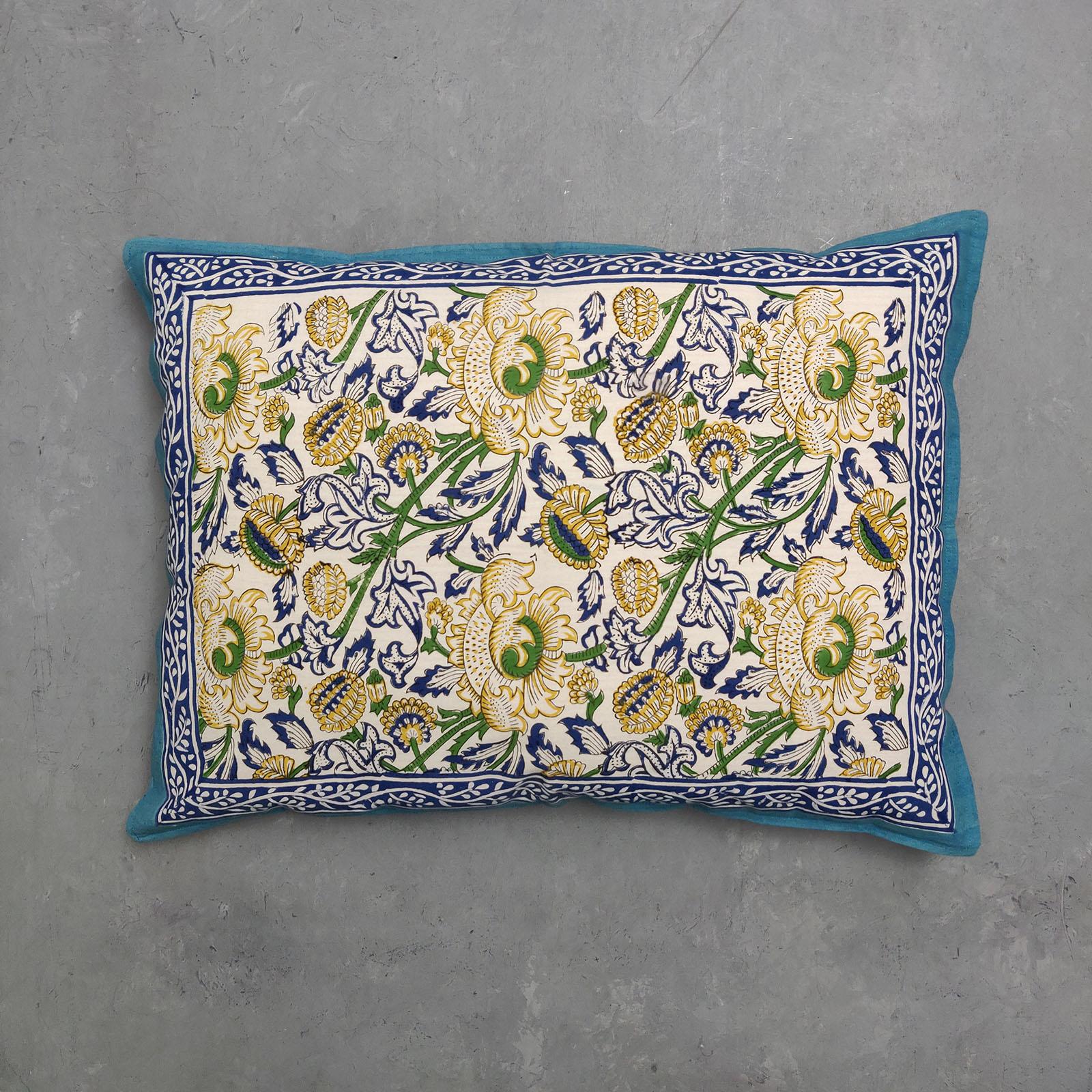 Handblock Pillow Cover HPC87