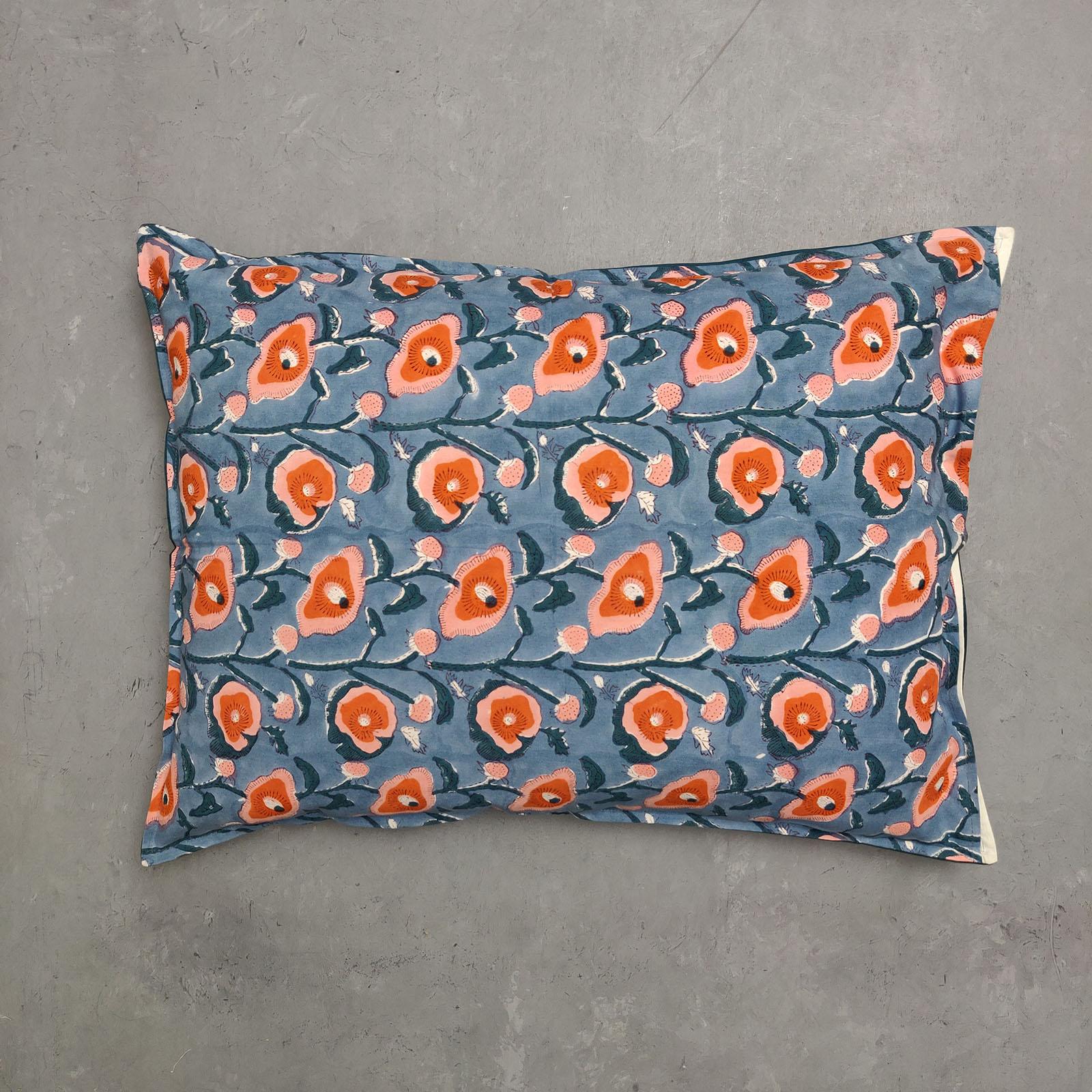 Handblock Pillow Cover HPC90