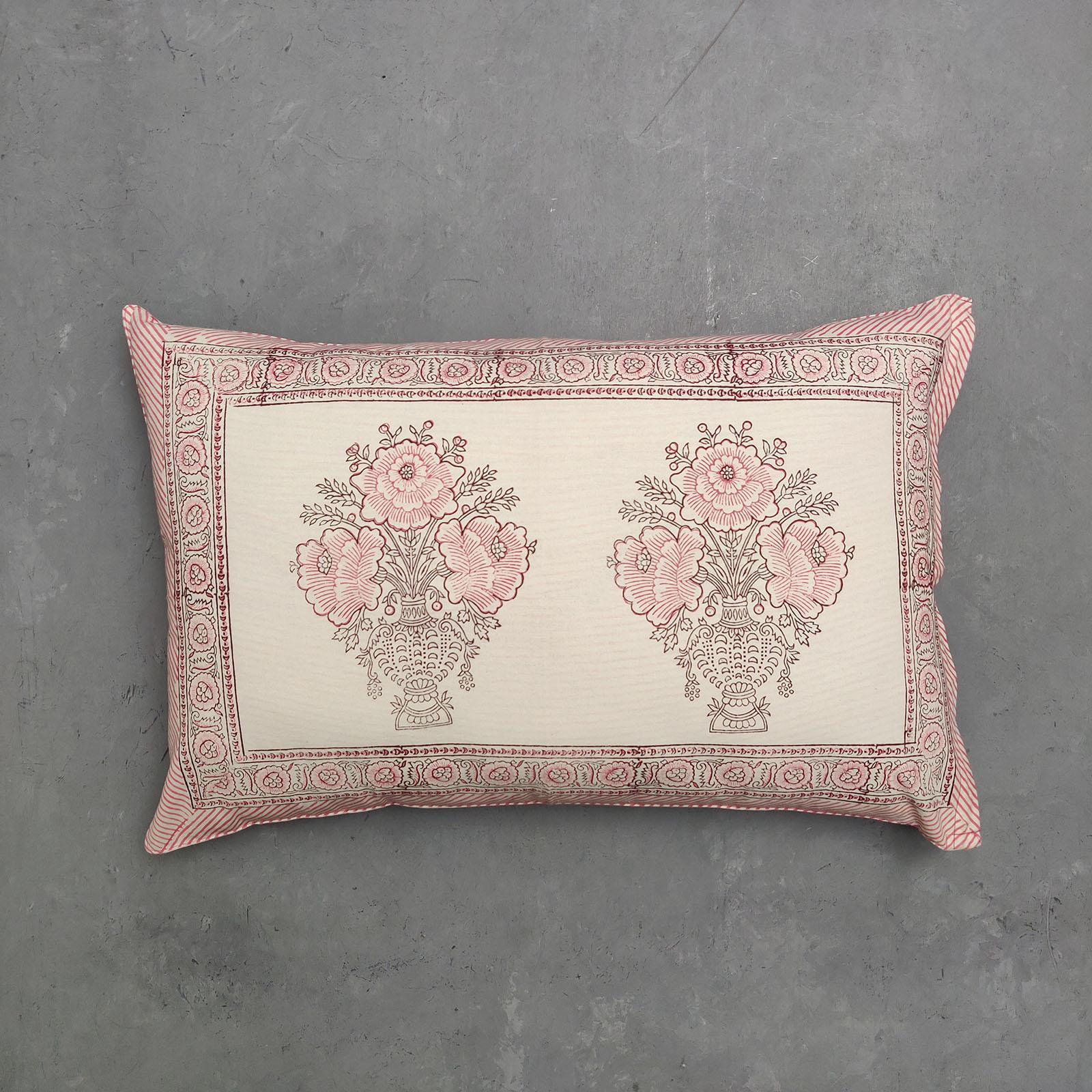 Handblock Pillow Cover HPC91