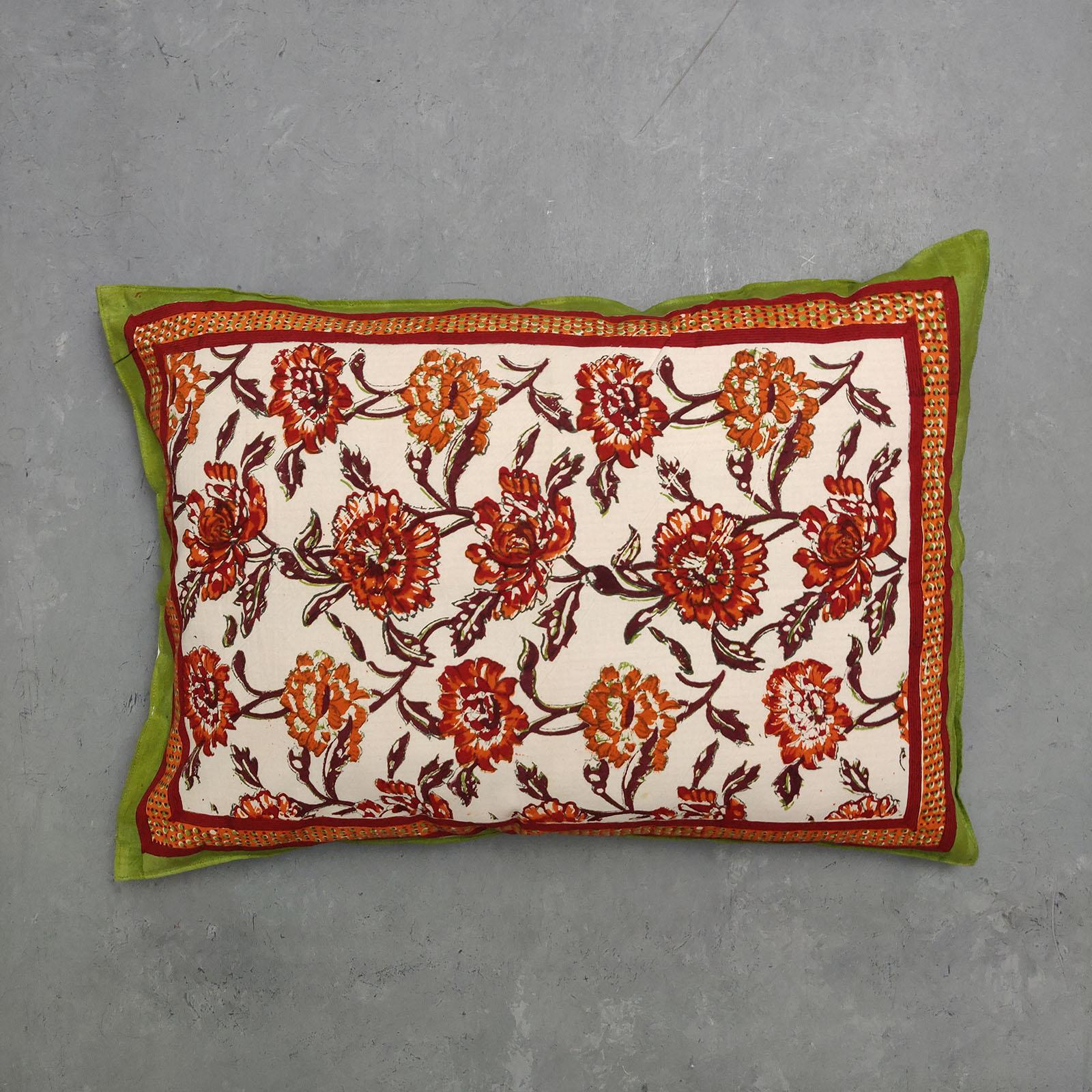 Handblock Pillow Cover HPC98