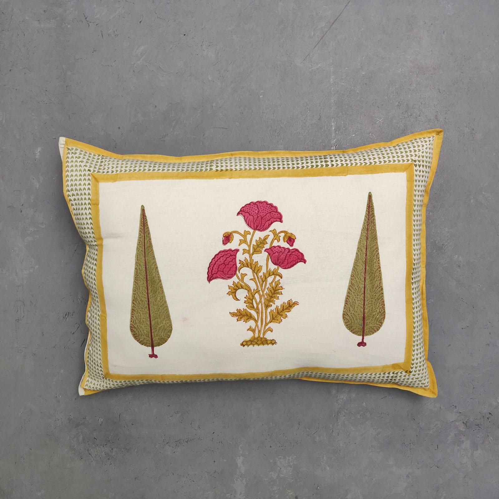 Handblock Pillow Cover HPC99