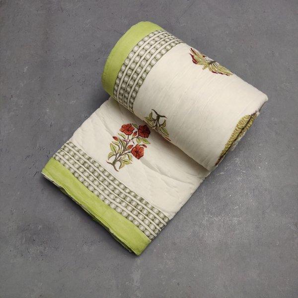 Floral Double Size Quilt QD23