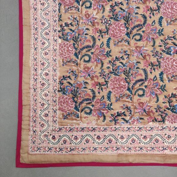 Floral Double Size Quilt QD29