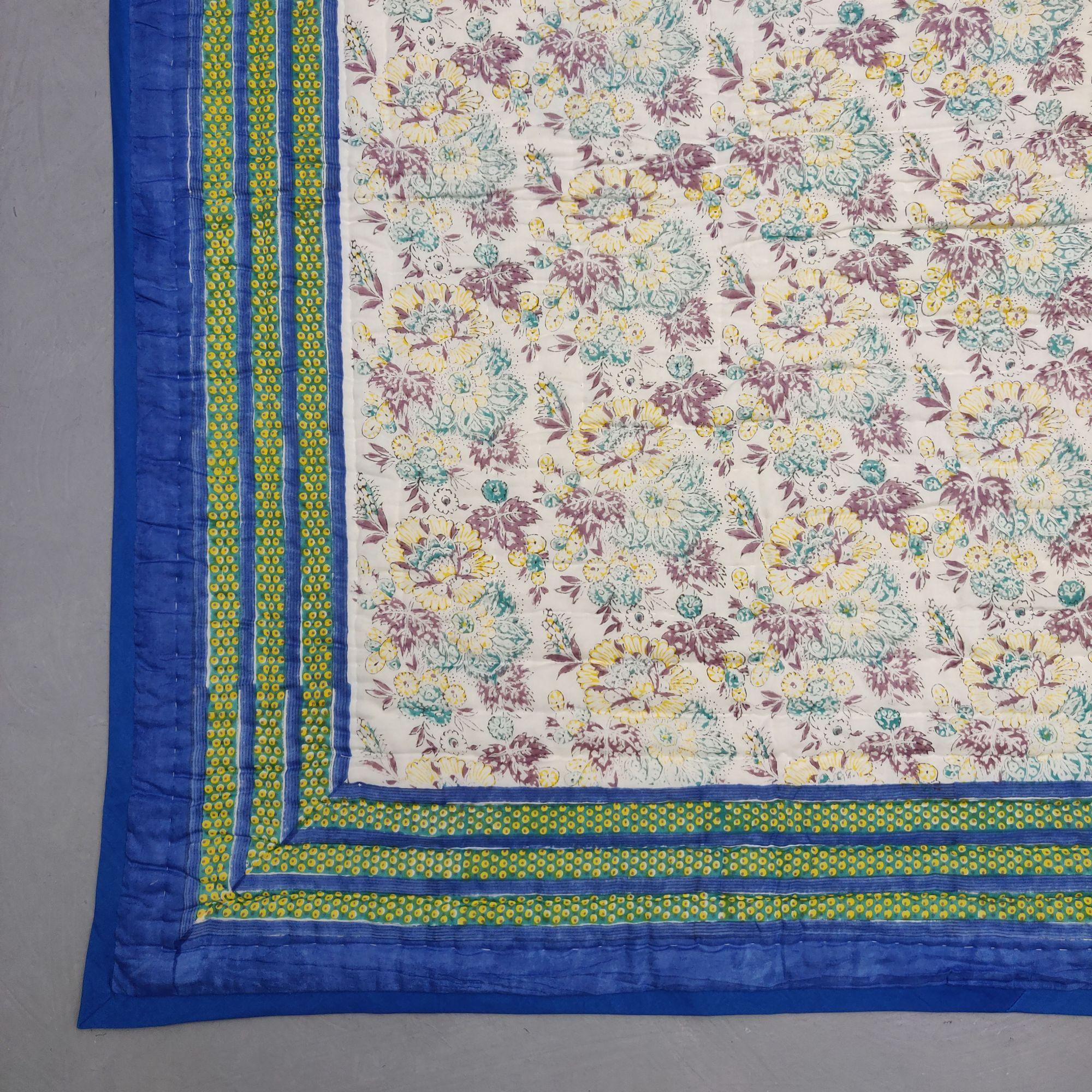Floral Double Size Quilt QD38