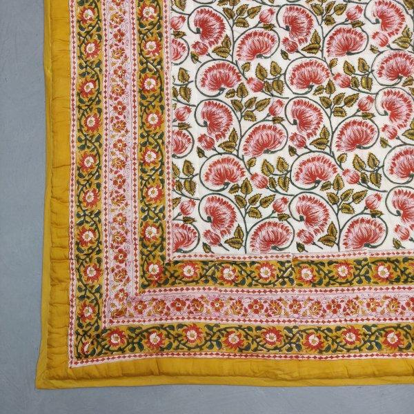 Floral Double Size Quilt QD46