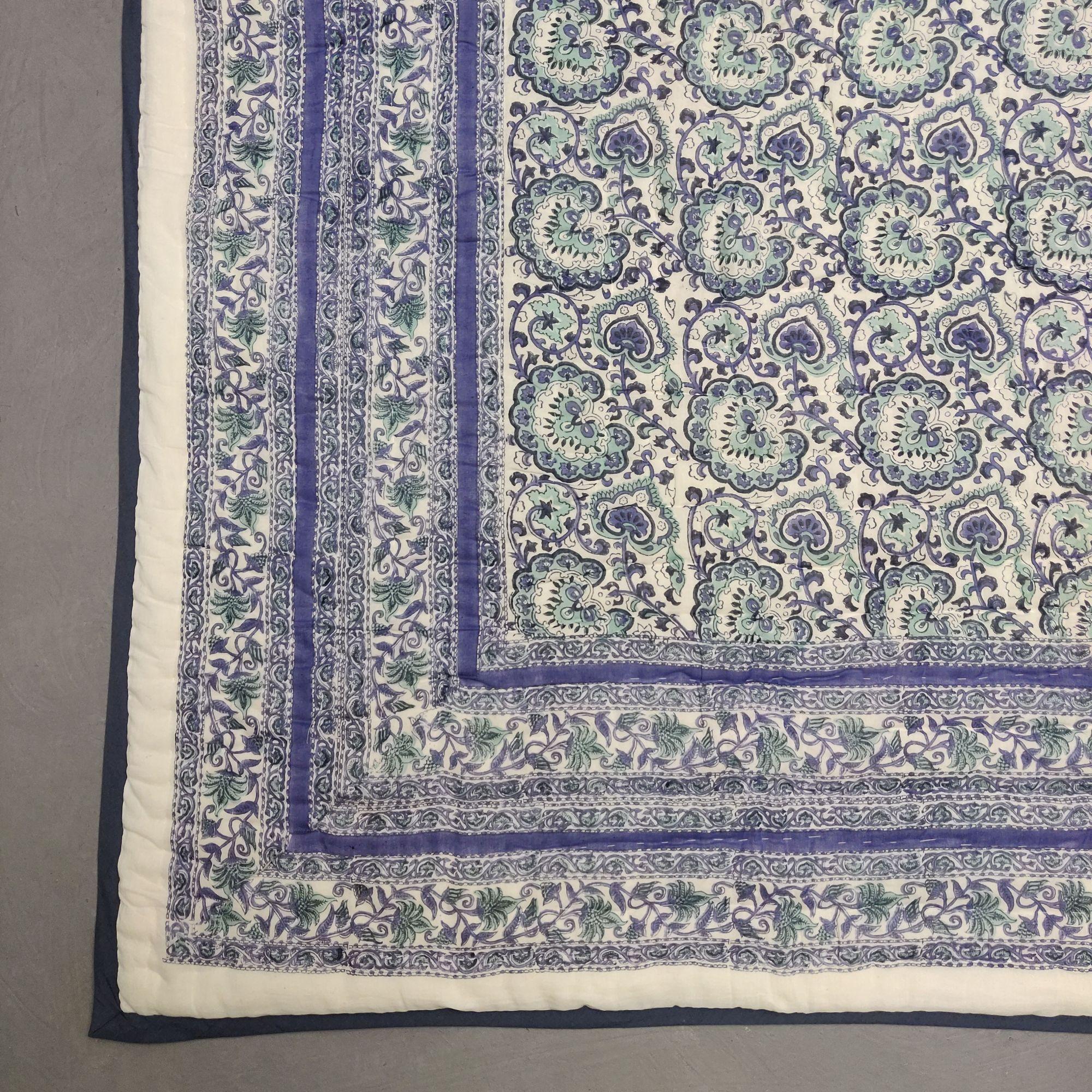 Floral Double Size Quilt QD51