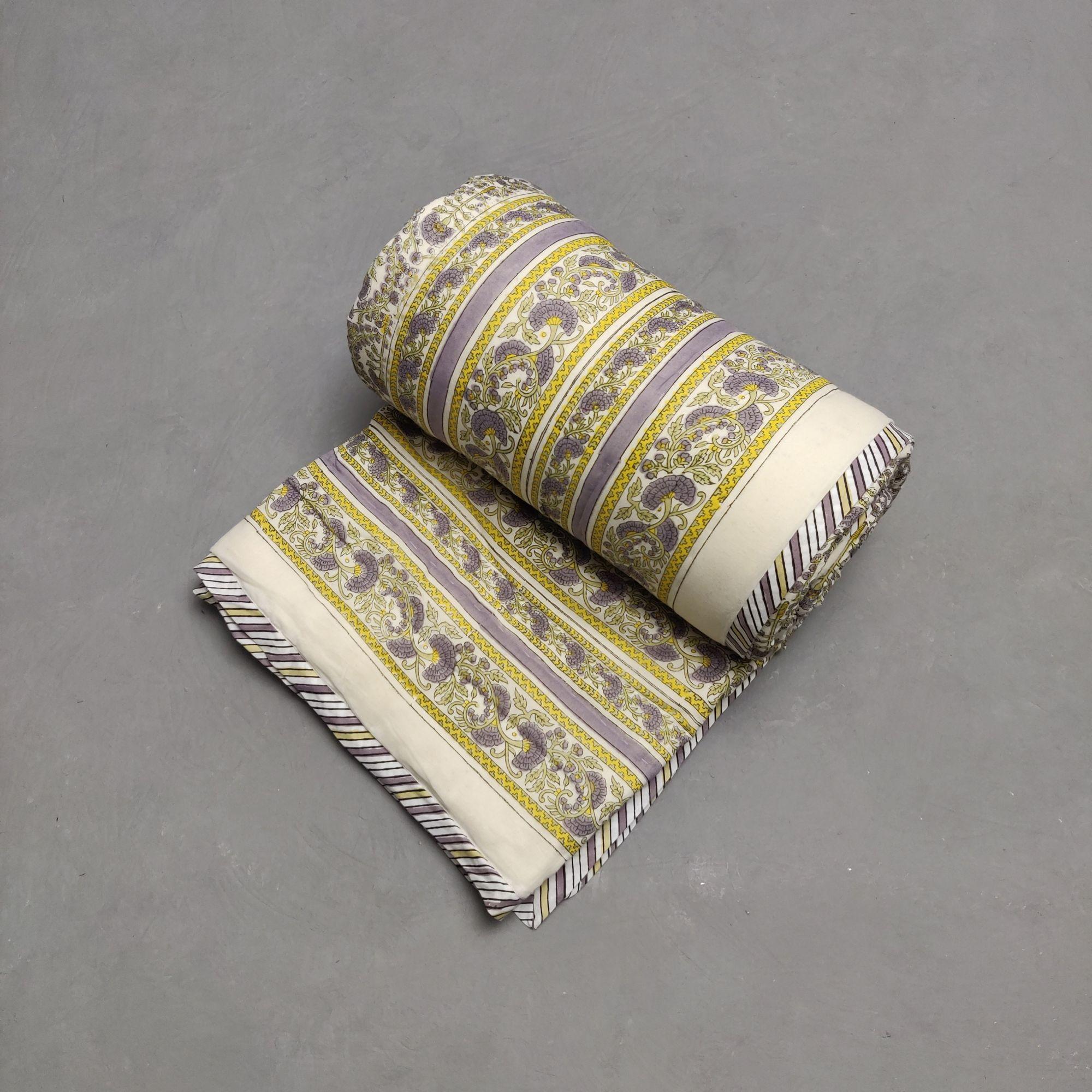 Single Size Quilt Handblock HQS110