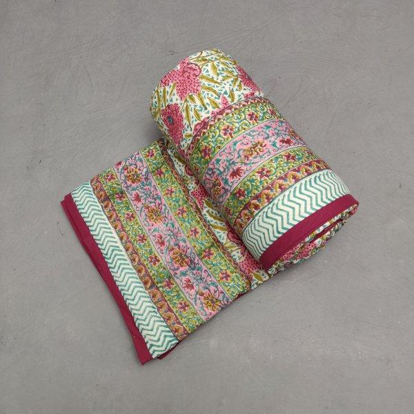 Single Size Quilt Handblock HQS125