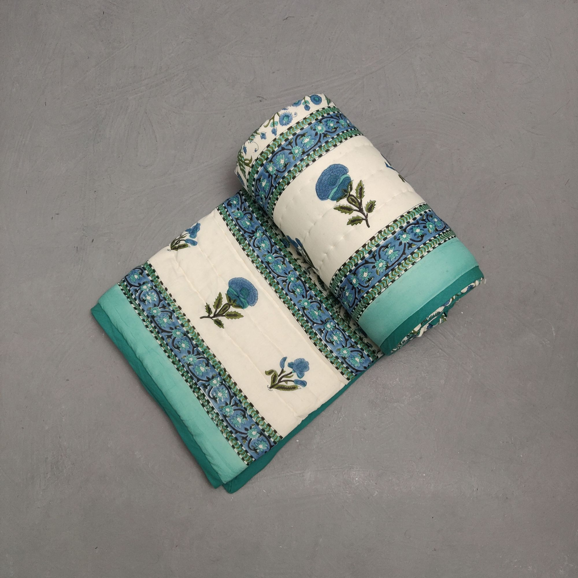 Single Size Quilt Handblock HQS127