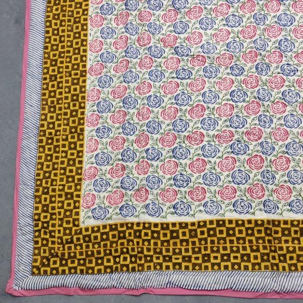 Single Size Quilt Handblock HQS54