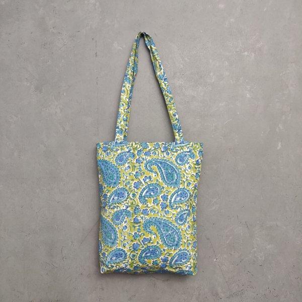 Handblock Printed Medium Canvas Tote Bag MCTB14