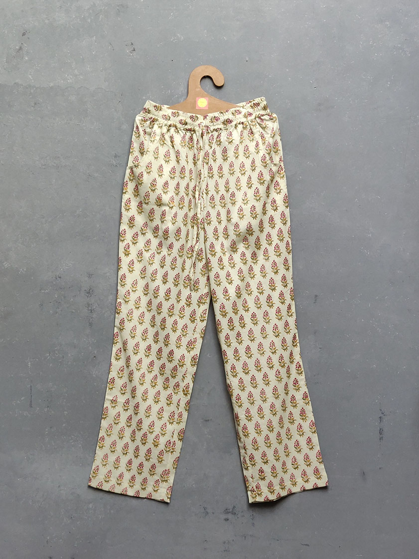 Cotton Handblock Print Night Suits WNS161